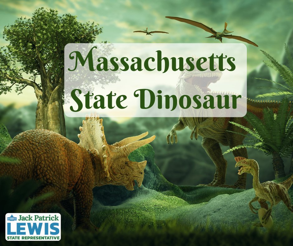 Representative Jack P. Lewis' campaign for the Massachusetts state dinosaur