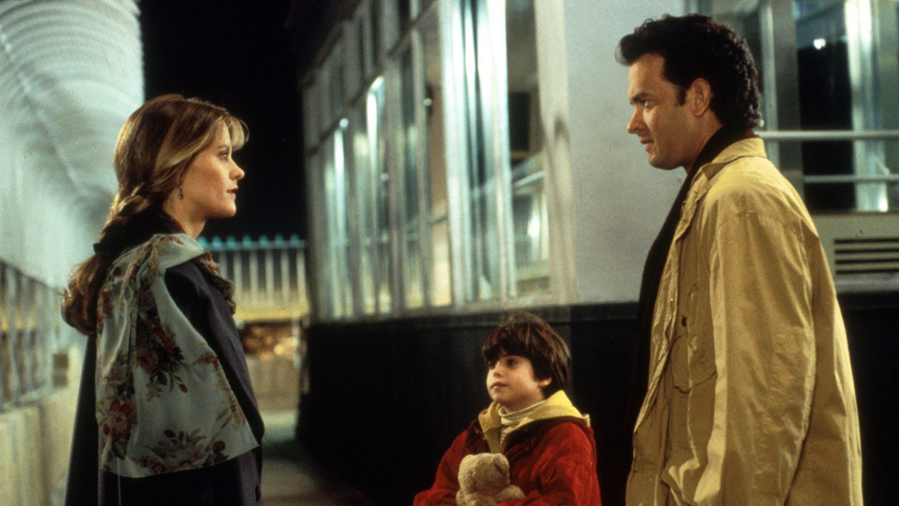 """Meg Ryan (left) and Tom Hanks (right) star in """"Sleepless in Seattle""""  (1993), directed by Nora Ephron."""