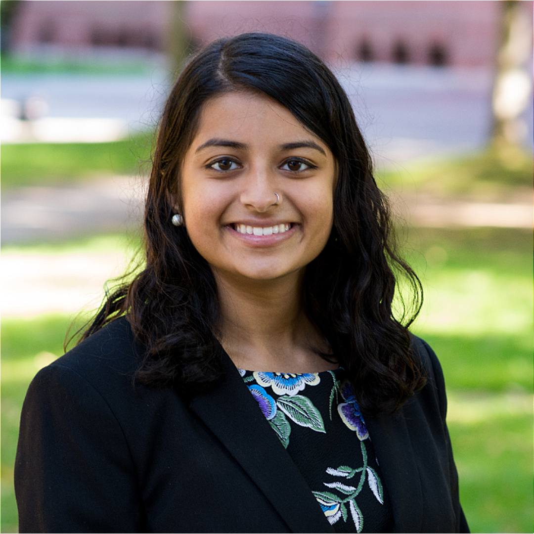 Meena Venkataramanan '21 plans to pursue an M.Phil. in English Studies: Modern and Contemporary Literature at the University of Cambridge.