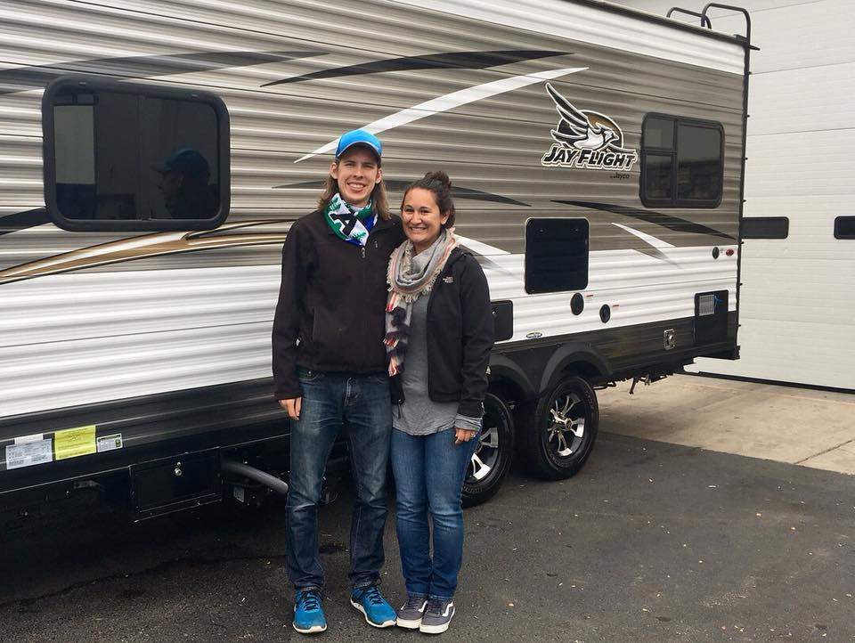Rebecca and Michael purchased their RV in Fall 2017.