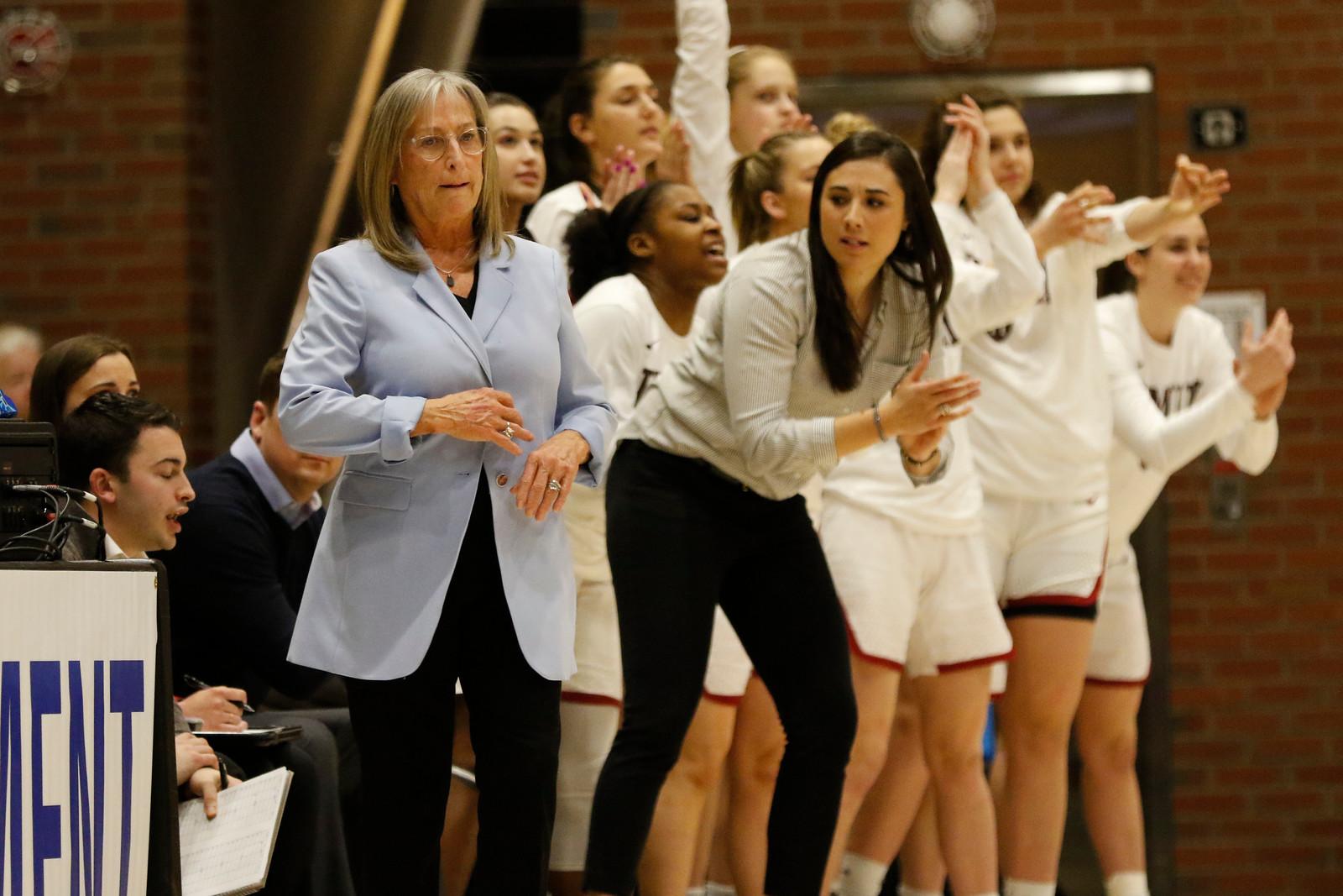 In unprecedented circumstances, Coach Kathy Delaney-Smith has led women's basketball through a successful 2020-2021 recruiting cycle.