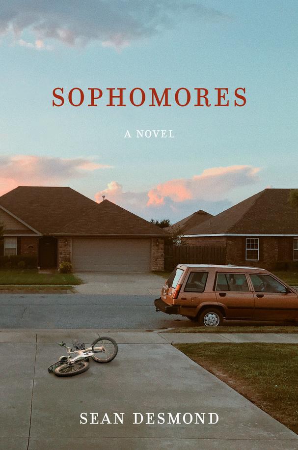 "Cover art for Sean Desmond's novel, ""Sophomores,"" released in Jan. 2021."
