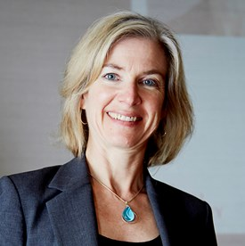 Photo of Jennifer Doudna, American biochemist known for her revolutionary work on the gene-editing software, CRISPR