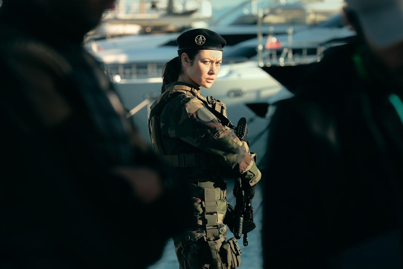 """Olga Kurylenko stars as Klara in """"Sentinelle."""""""