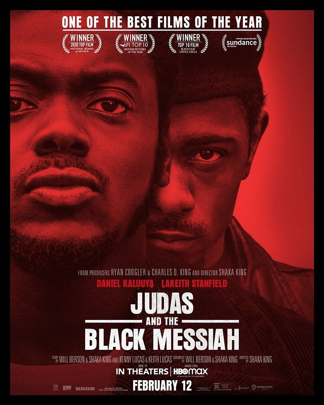 Judas and the Black Messiah official promotional poster.
