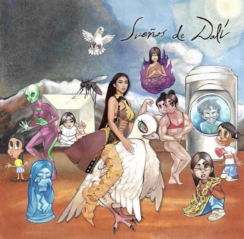 """Album cover for Paloma Mami's """"Sueños de Dalí."""""""