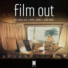"""Single cover for BTS' """"Film Out."""""""