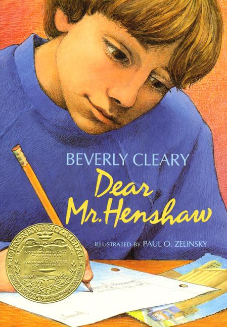 "Cover Art for the Children's Book, ""Dear Mr. Henshaw"" by Beverly Cleary."