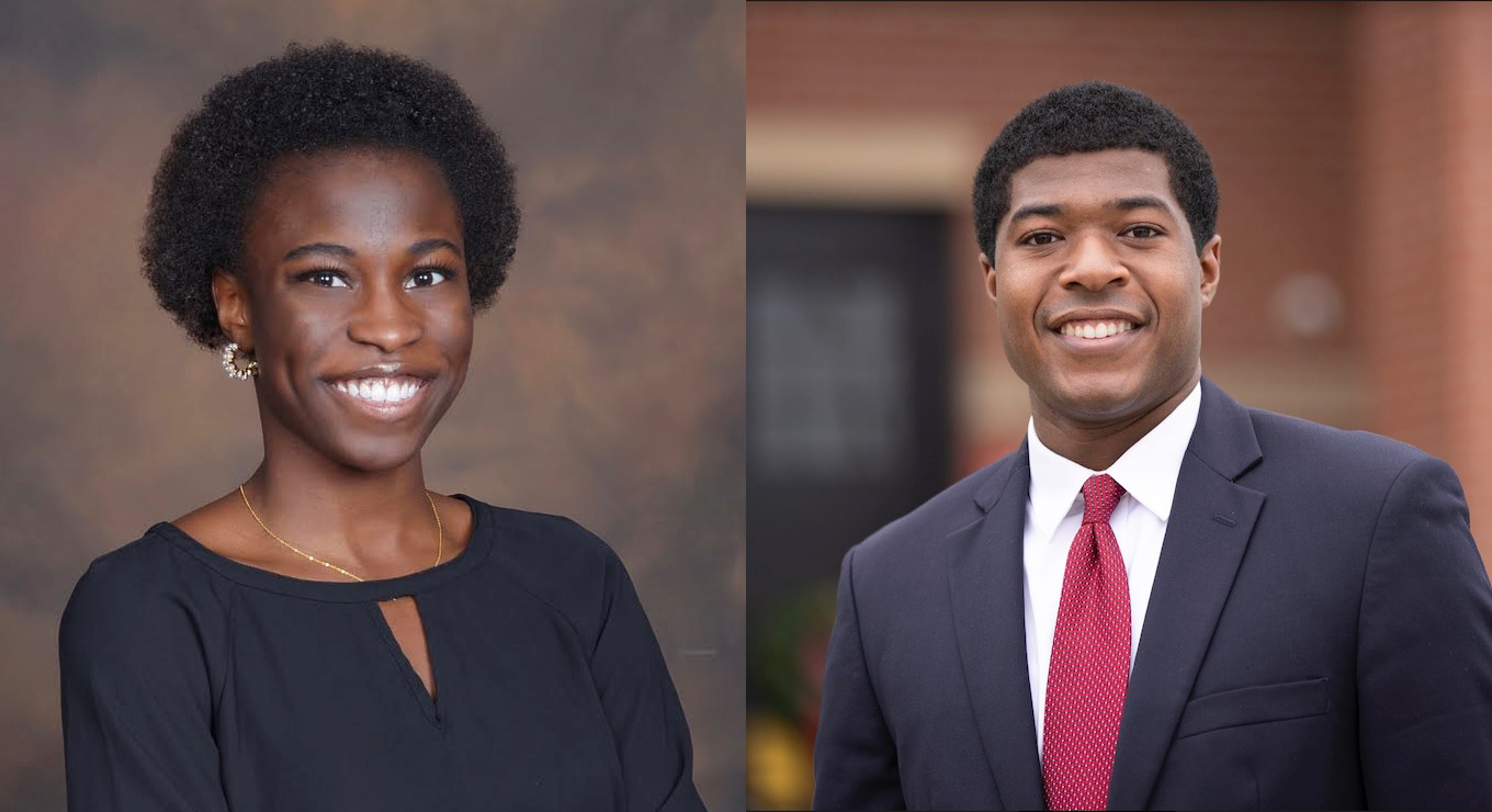 Araoluwa P. Omotowa '22 and Undergraduate Council President Noah A. Harris '22 were named Truman Scholars last week for their leadership and commitment to public service.