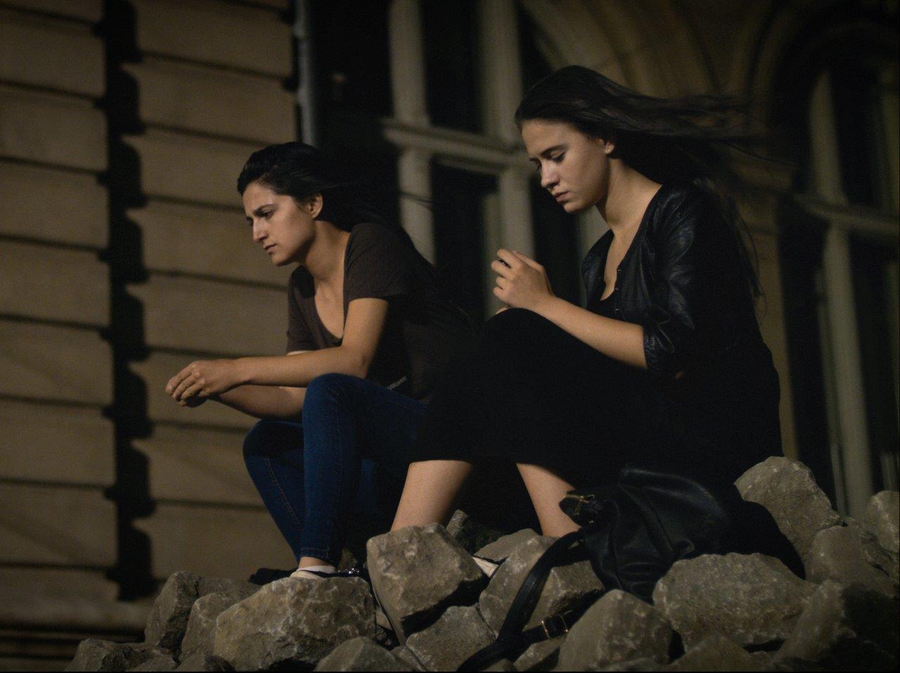 """Sonja (Maria Bakalova) and Lora (Ralitsa Stoyanova) in """"Women Do Cry"""""""