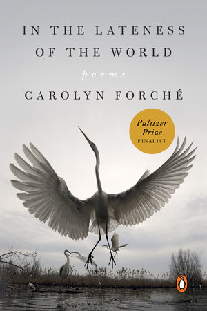Cover of 'In the Lateness of the World' by Carolyn Forché
