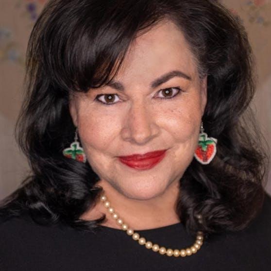 Author Angeline Boulley spoke on Sept. 16 as part of Harvard's ArtsBites speaker series