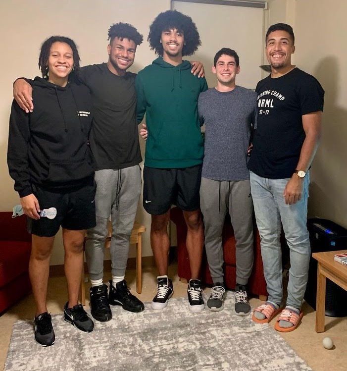 McKenzie lives in Lowell House with the men's basketball senior class.