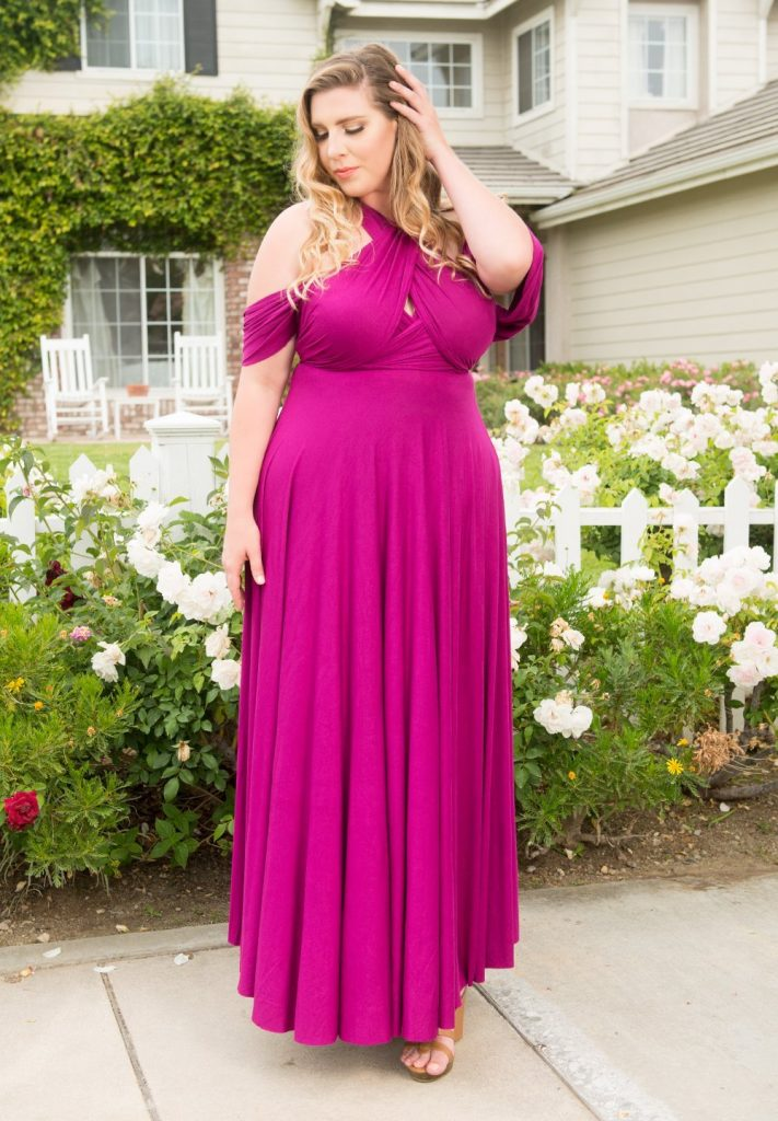 ETERNITY MAXI CONVERTIBLE DRESS at Sealed with a kiss designs