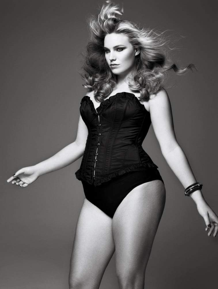 Models.com shares exclusive photos from V Mag Plus Size Issue