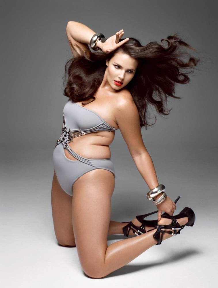 V Mag Plus Size Issue preview from Models.com