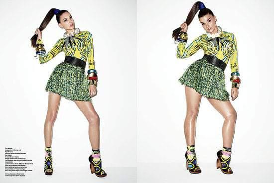 Crystal Renn In V Magazine