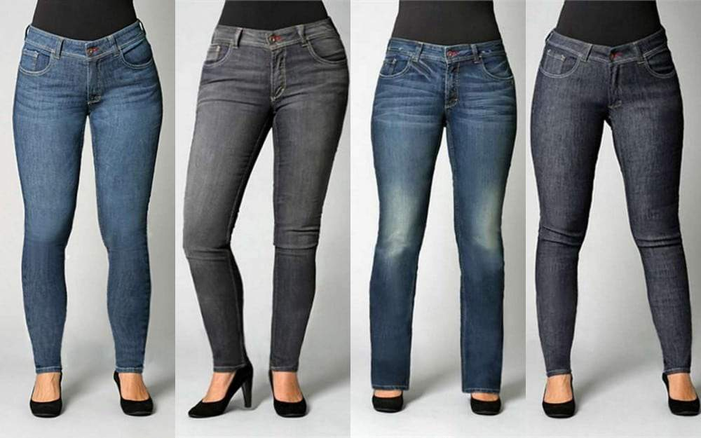 Plus Size denim leggings and skinny jeans by Svoboda
