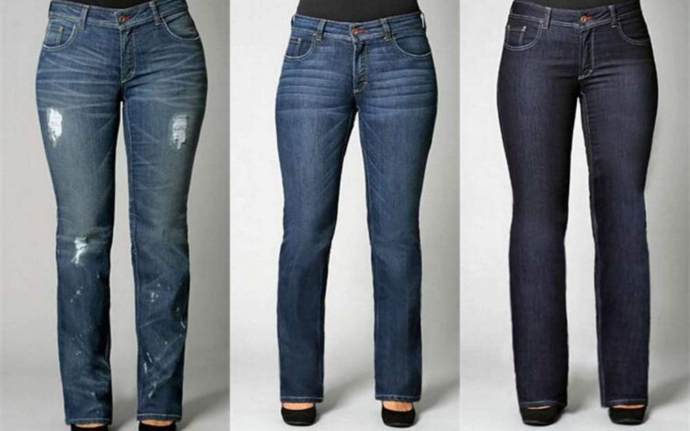 Boot Cut and Straight leg Plus Size Jeans at Svoboda