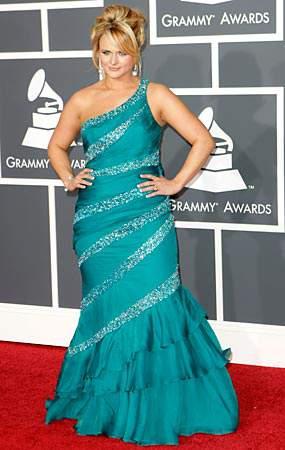 Miranda Lambert at the 2010 Grammys