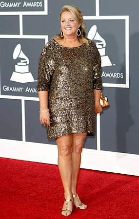 Liz Rose at the 2010 Grammys