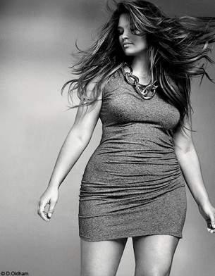 Tara Lynn Elle France Curvy Issue