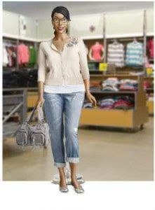 My Old Navy Plus Size Mannequin