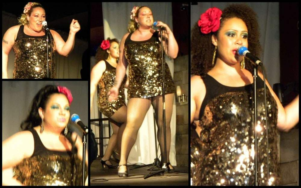 The Glamazons perform for Full Figured Fashion Week 2010