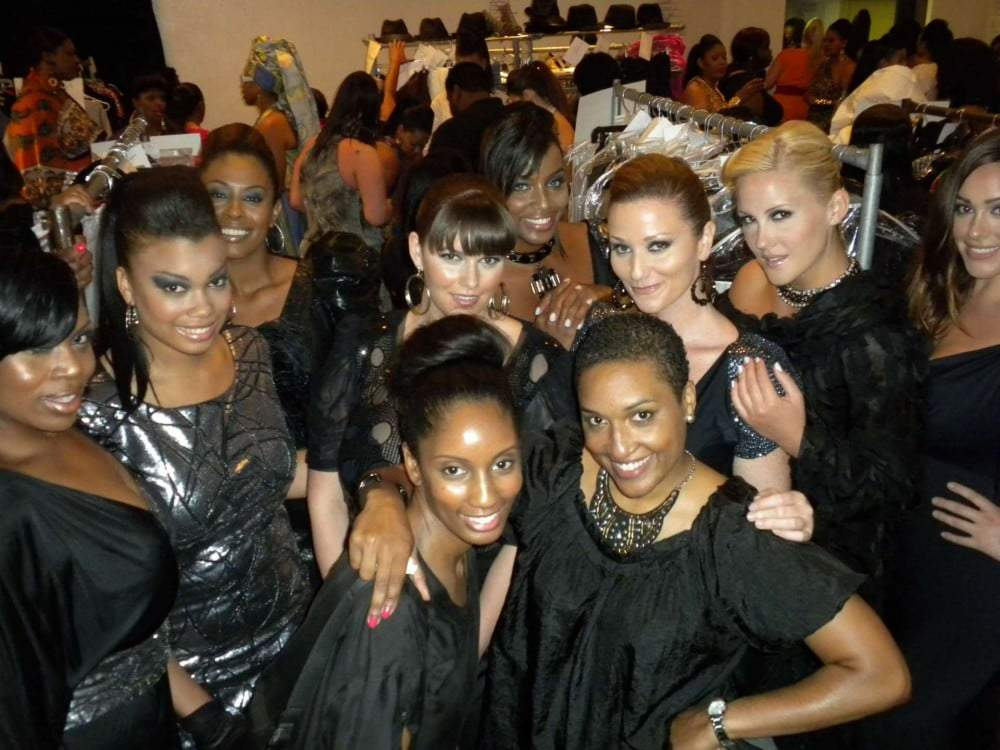 Behind the scenes of The Susan Moses Collection at Full Figured Fashion Week