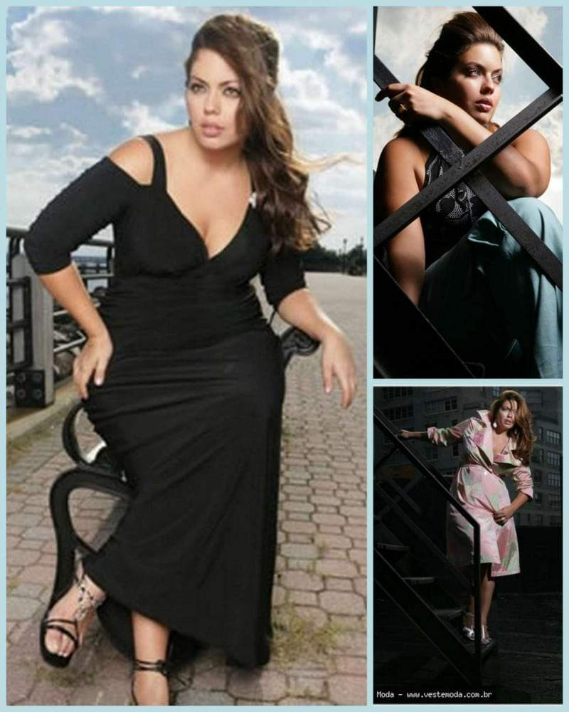 Interview with Plus Model Fluvia Lacerda on The Curvy Fashionista