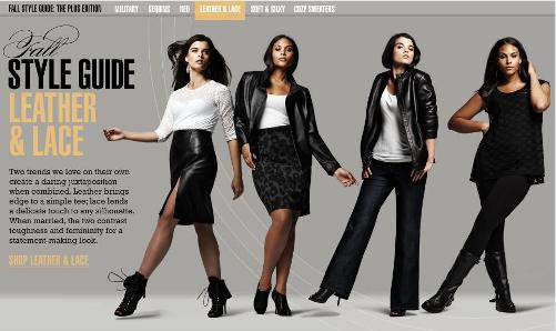 Bloomingdales Plus Size Style Guide