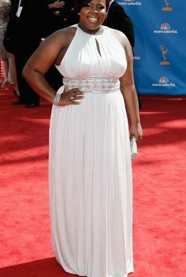 2010 Emmy's red carpet- Amber Riley