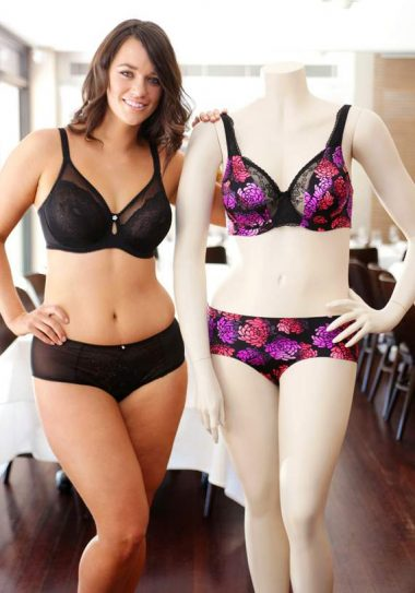 BGM Plus Size Model Laura Wells for Berlei Curves