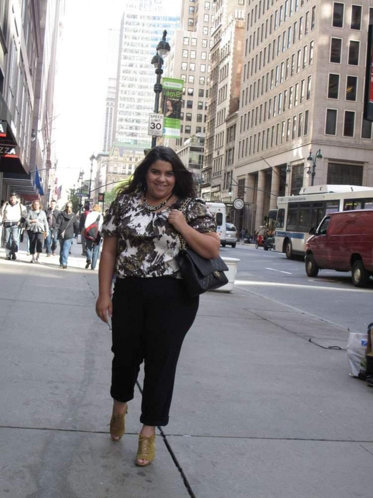 Ashley Falcon interviewed on The Curvy Fashionista