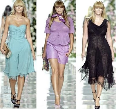Plus Size on the Catwalk- The Elena Miro Spring 2009 Collection