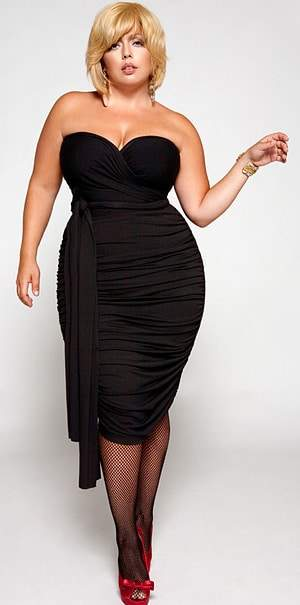 Plus Size Designer Monif C. Fall 2010 Collection
