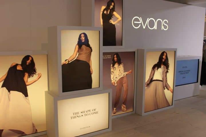 Plus Size Retailer Evans Press Preview S/S 2011
