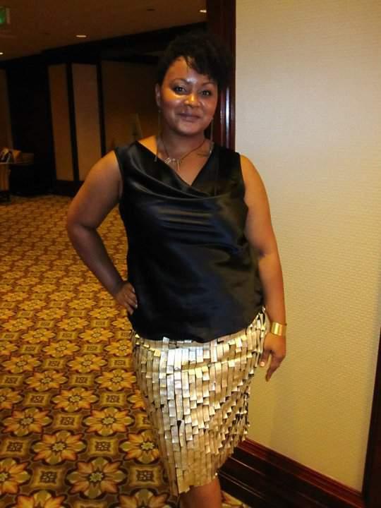 The Curvy Fashionista in Rani Zakhem, FFFWeek