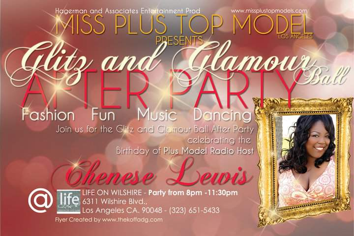Miss Plus Top Model After Party celebrating Chenese Lewis