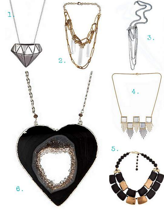 Necklaces at Max and Chloe