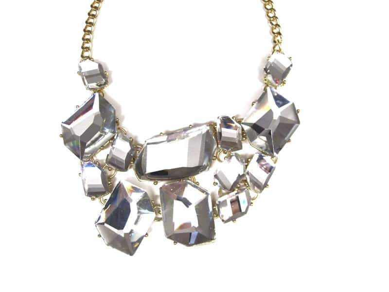 Rich Rocks Cluster necklace
