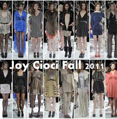 Joy Cioci Fall 2011