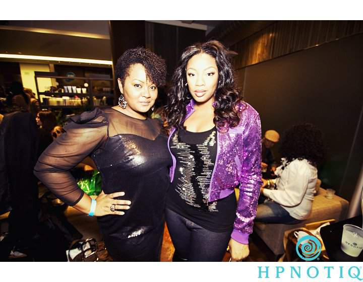 The Curvy Fashionista and Liris C the Cocktails and Couture