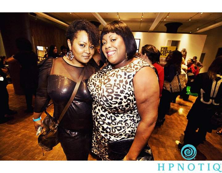 The Curvy Fashionista and Monif C the Cocktails and Couture