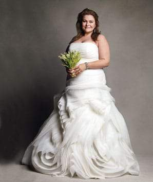 White by Vera Wang in Plus Sizes