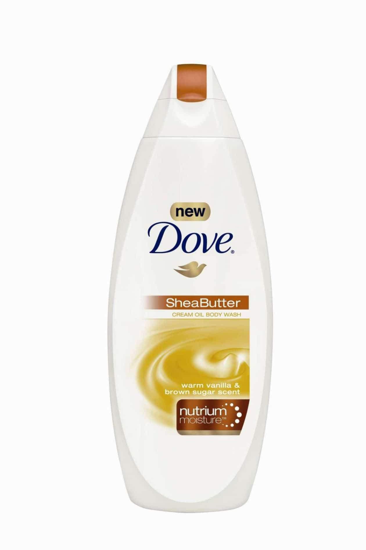 Dove Shea Butter Cream Oil Body Wash with Nutrium Moisture
