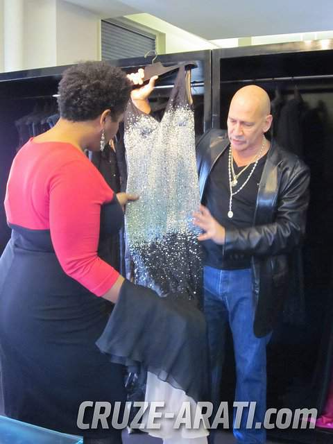 Behind the Seams with Carmen Marc Valvo Fall 2011
