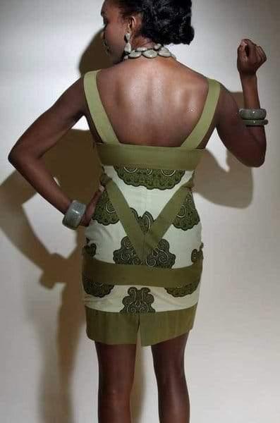 House Rossil Diamond Tank Dress