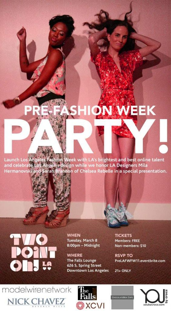 Two Point Oh LA Pre Fashion Week Party