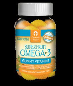 Superfruit Omega 3 Gummy Vitamins